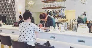 this ottawa nail salon doubles as a bar