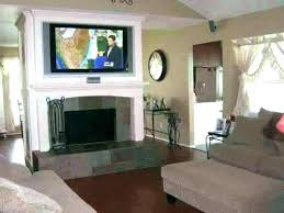 fireplace tn installing tv cost