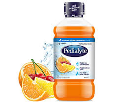 pedialyte with zinc fruit flavour
