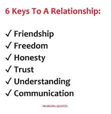 keys to a relationship friendship dom honesty trust v