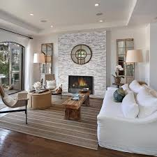 diy stacked stone fireplace installation