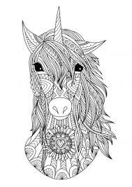 Unicorn Coloring Stockvectors Rechtenvrije Unicorn Coloring