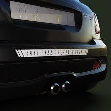 Mandalorian Custom Text Decal Boba Fett Alphabet Sticker Nerdecal