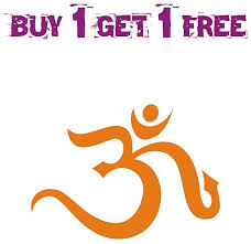 Buy Om Symbol Orange Vinyl Sticker Car Scooty Bike Decal Ssc 64b Size 10cm X 14cm Online Get 65 Off