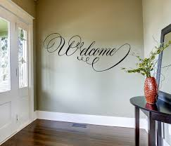 Welcome Wall Decal Welcome Wall Art