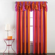 Rainbow Ombre Window Curtain Panel And Valance Bed Bath Beyond