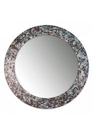 decorative mosaic glass wall mirror