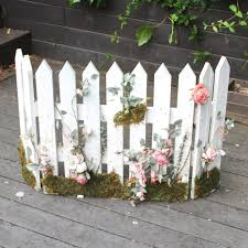 White Picket Fence Fireplace Screen Ebth