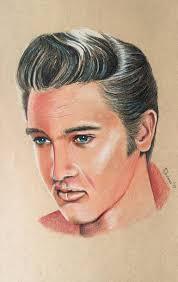 Elvis Presley Drawing by Adriana Holmes | Saatchi Art