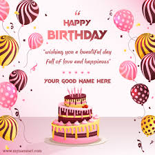 happy birthday wishes images birthday card maker online