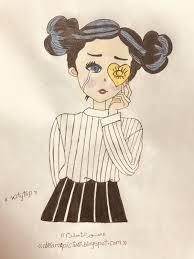 صور رسم بنات حزينه كيوت عالم الكتب