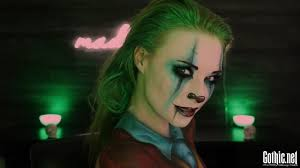 joker madness makeup