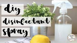 diy disinfectant spray mom tip