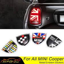 Mega Sale 5611c Union Jack Car Metal Emblem Badge Stickers Decals For Mini Cooper Countryman Clubman F54 F55 F56 R55 R56 R60 F60 Car Accessories Cicig Co