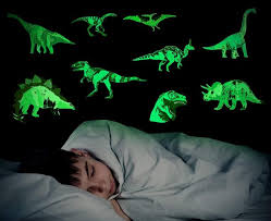 These Dinosaur Wall Decals Glow In The Dark And Are Perfect For Kids Who Are Afraid Of The Dark
