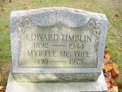Myrtle Thompson Timblin (1893-1975) - Find A Grave Memorial