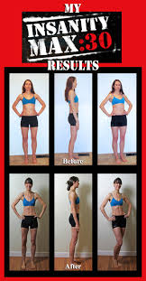 our insanity max 30 after results