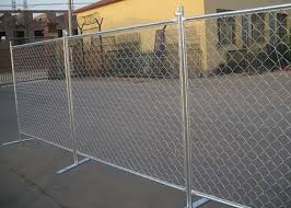 Removable Chain Link Fence Panels Safe And Flexible Protects Valuable Assets