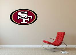 San Francisco 49ers Nfl Bedroom Poster Wall Decal Art Sticker Decor Sa212 Ebay