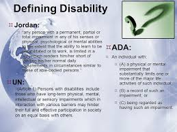 Jordan: An International Leader in Disability Rights - ppt download