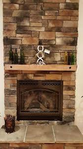 brick fireplace mantel macik custom