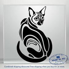Black Cat Crystal Rhinestone Sticker Bling Cute Kitty Kitten Car Bumper Decal For Sale Online Ebay