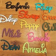 Kids Name Sign Etsy
