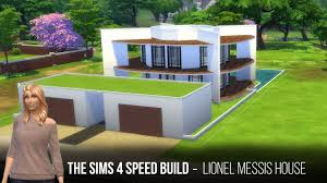 the sims 4 sd build lionel messis
