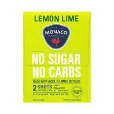monaco lemon lime ready to drink vodka