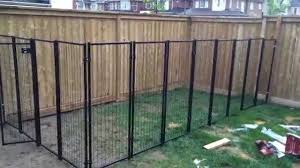 Alluring Temporary Fences For Dogs Backyard Renovation Building The Dog Fence Part 2 Youtube Backyard Dog Area Dog Backyard Dog Fence Cheap