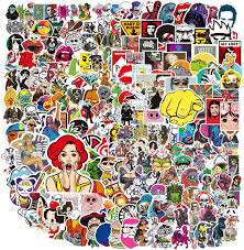 Pack Of 2 Vinyl Stickers Anime Girl Pack No 5 Car Decal Uk Post Only Archives Midweek Com