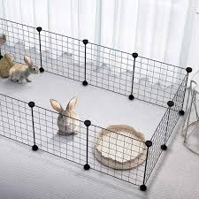 Sale New Dog House Foldable Dog Fences Puppy Kennel Iron Pet Playpen For Training Kitten Rabbits Cage Dog Supplies Pet Products Houses Kennels Pens Aliexpress