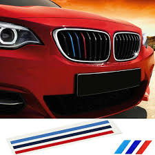 Colour Stripes Sticker Vinyl Decal Badge Kidney Grill M Sport Tech 3 Bmw Car Gs Archives Midweek Com