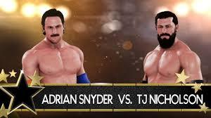 TGA Supercard Tournament: Adrian Snyder vs. TJ Nicholson (First Round) -  YouTube