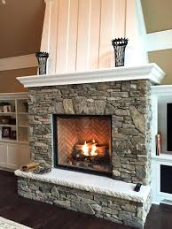 stone ventless gas fireplace inserts