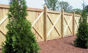 If Used Around Backyards With Pools The Cross Frame Privacy Fence Reduces The Possibility Of Someone Usin Wood Fence Design Privacy Fence Designs Fence Design