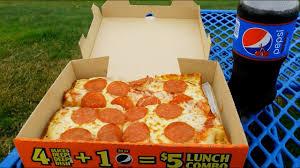 little caesars 5 lunch bo pepperoni