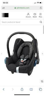 maxi cosi cabriofix car seat with