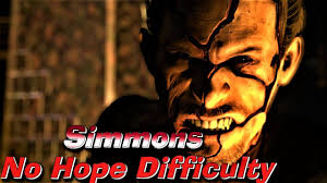 Resident Evil 6: Ada - Simmons FINAL Fight (No Hope Difficulty) - YouTube