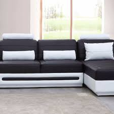 genuine leather big sectional sofa set