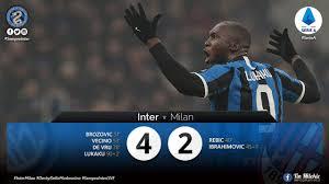 Watch - Highlights Inter 4 - 2 AC Milan: Nerazzurri Stage Breathtaking  Comeback To Win The Milan Derby