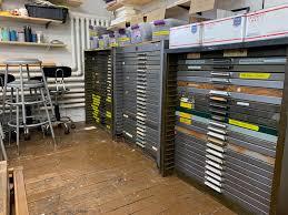 cabinets reflex letterpress