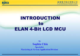 INTRODUCTION to ELAN 4-Bit LCD MCU - ppt video online download