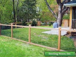 California Chain Link Fence Minneapolis Mn Fencing Company Backyard Fences Fence Backyard