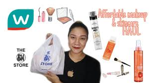 affordable makeup haul philippines