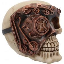 steunk skull ornament gothic gifts
