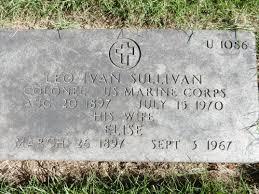 Leo Ivan Sullivan (1897-1970) - Find A Grave Memorial