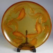 1920 french lalique martigues coy fish