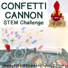build a confetti cannon new years