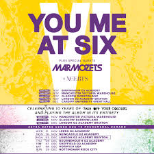 you me at six announce seven additional